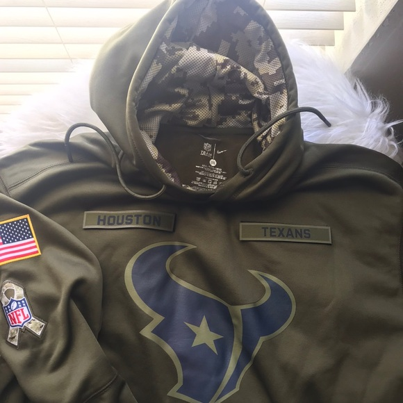 best service 0105a 0fb15 Salute to our Troops Nike hoodie NWT